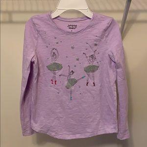 Jumping Bean Girls Dance Shirt in Size 10
